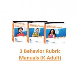 3 Behavior Rubric Manuals Store