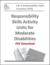 Moderate Responsibility Skills Cover PDF