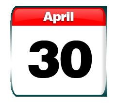 Image result for april 30 calendar images